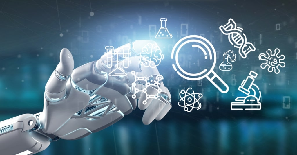 Artificial Intelligence for drug discovery.